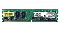 2048 Mb DDR2 800MHz Crucial CT25664AA800 RTL PC2-6400 CL6 DIMM 240-pin 1.8В