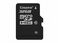 MicroSDHC 32 Gb KINGSTON class 10 без адаптера UHS-I 45MB/s