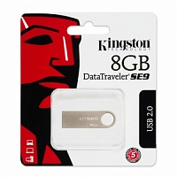 USB-Flash 8 Gb KINGSTON Data Traveler SE9 silver, mini