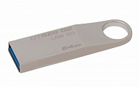 USB-Flash 64 Gb KINGSTON DataTraveler SE9 G2 металл, USB3.0