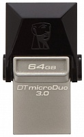 USB-Flash 64 Gb KINGSTON USB3.0 OTG Data Traveler MicroDuo (USB3.0/microUSB)