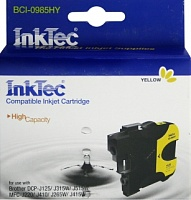 Картридж INKTEC BROTHER LC39Y, LC985Y/ DCP-J125/ J